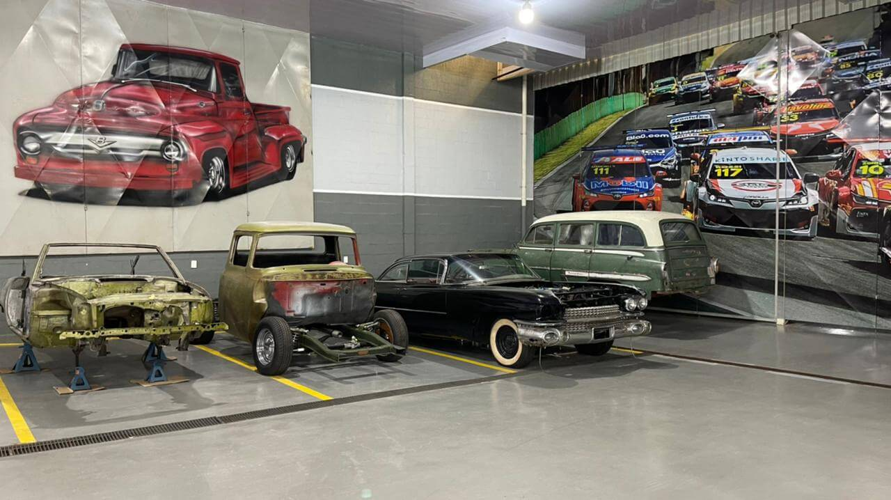 mecanica del rey motors paraguay carros antigos